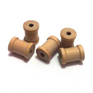 Mini-bobines en bois