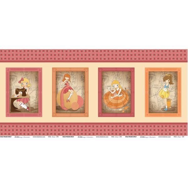 4 petites filles