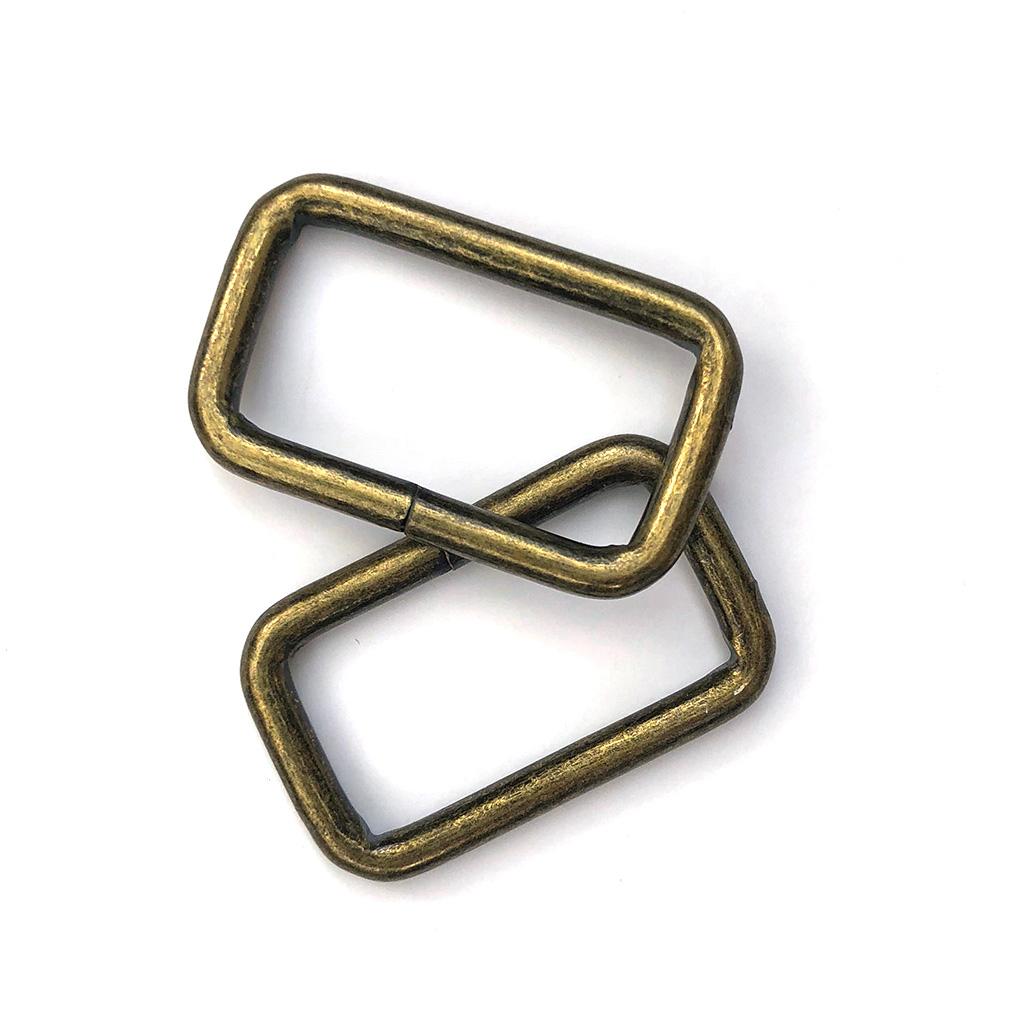 Anneaux Rectangulaires Bronze 32mm