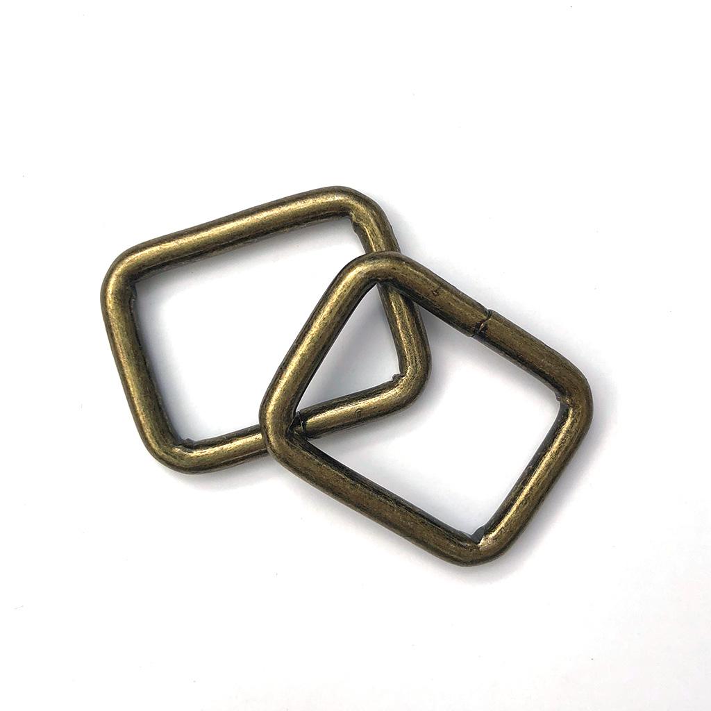 Anneaux Rectangulaires Bronze 28mm