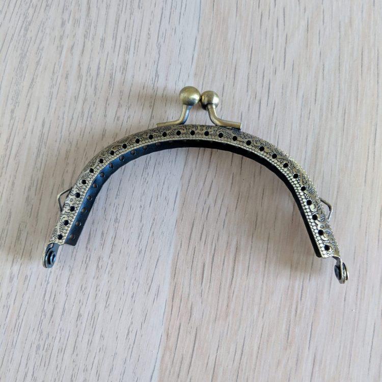 Fermoir Antique - 10cm x 5.5cm - Bronze