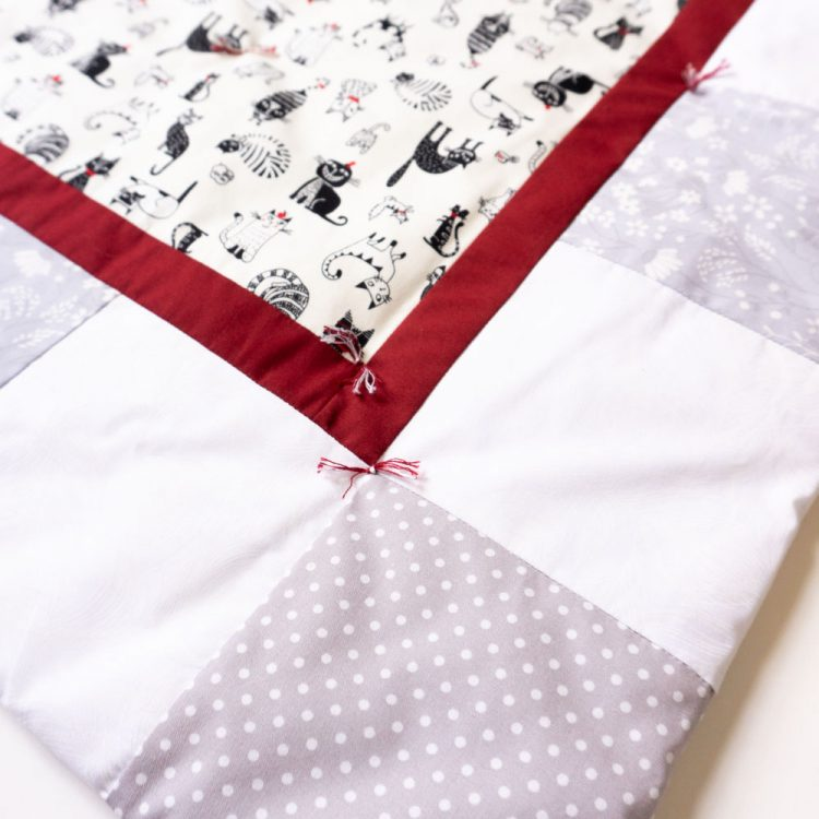 Baby Quilt | Cats